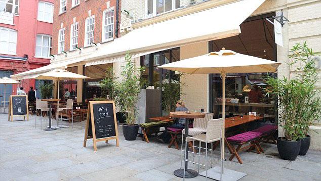 Vegetarian Restaurants Regent Street