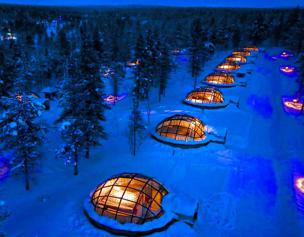 igloo village, Reel Combo