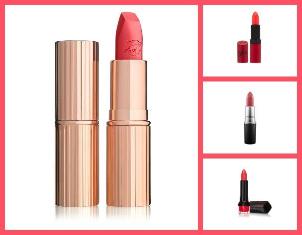 Budget vs Blowout: Coral Lipstick