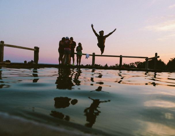 Summer activities in unusual places