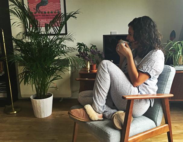 Luxury loungewear for lazing around