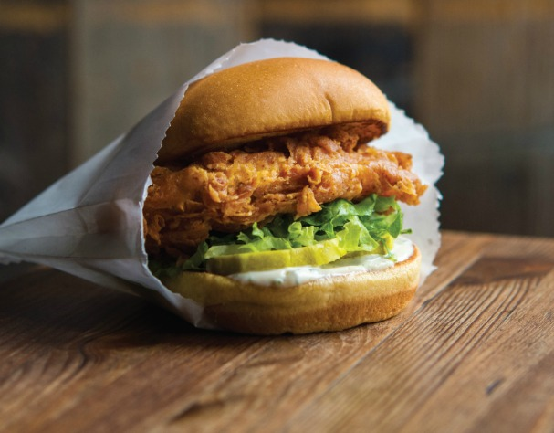 Flock this way for the mighty new Chick'n Shack