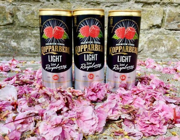 Summer drinks: Kopparberg's Raspberry Light Cider