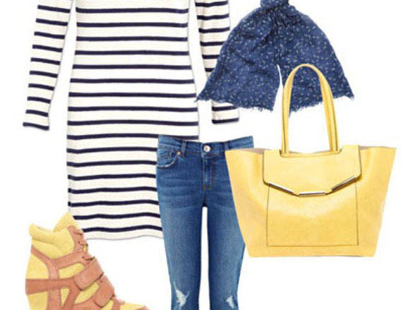 Earn Your Stripes - Breton Dress