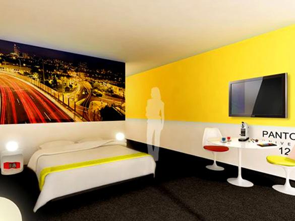 Pantone Hotel, Brussels