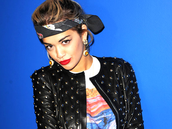 Rita Ora is the latest material girl