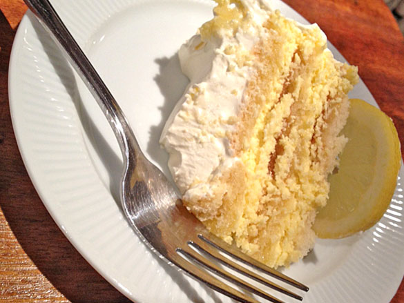 Cheats Lemon Gateau Recipe