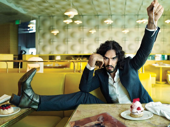 Russell Brand for British Esquire