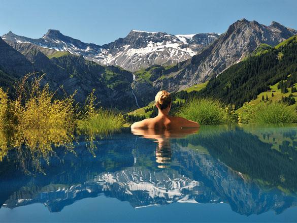 Amazing infinity pools