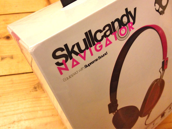 Win Skullcandy headphones