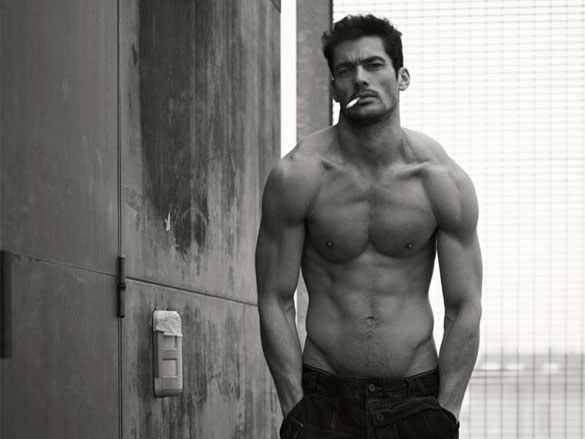 David Gandy saucy for Dolce