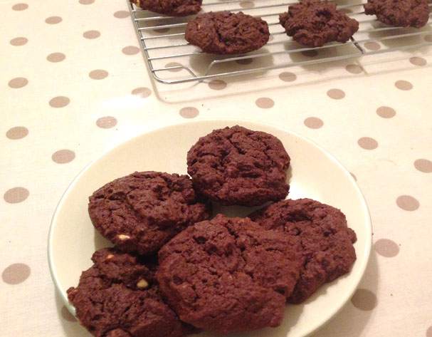 Busy Girl Bakes: Choc Chip Cookies recipe