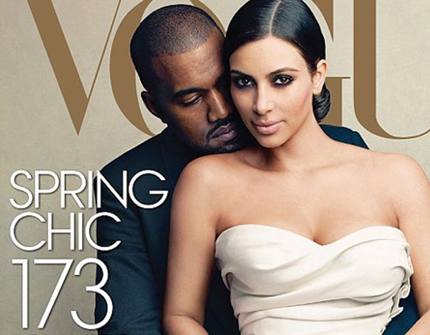 Kim & Kanye for US Vogue