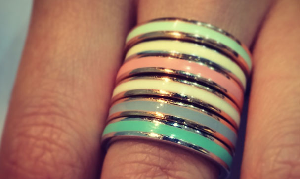 Exclusive: Duttson rocks Stacker Rings