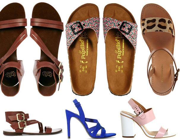 Summer Sandals: Top 5 Trends