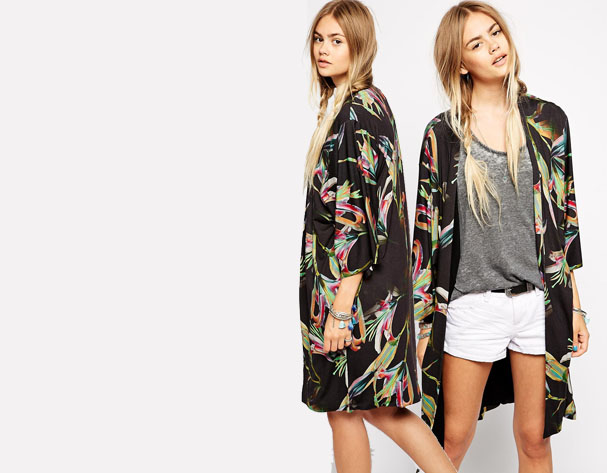 Cute Kimonos: Summer's Hot Trend