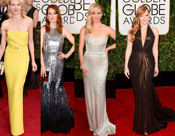 Golden Globes Red Carpet Fashion