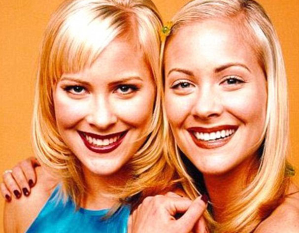 THEN AND NOW- Sweet Valley high twins