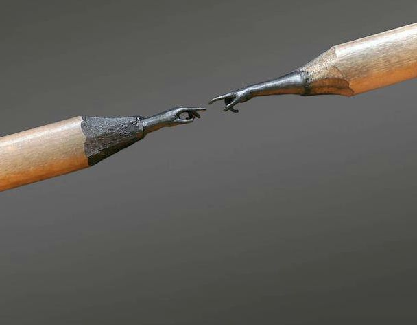 Turning Tools into Art: Pencil Sculptures