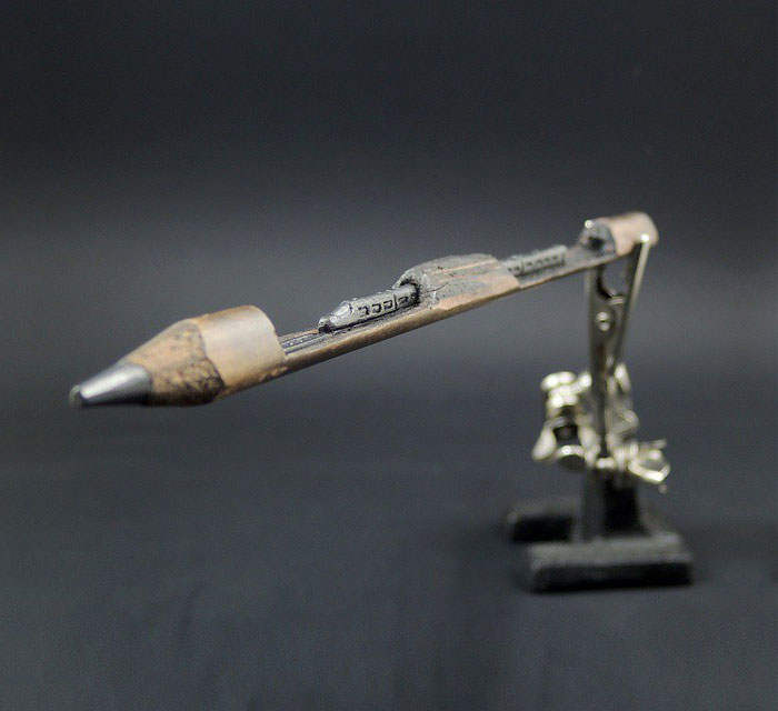 pencil tip sculptures jasenko dordevic 5jpg