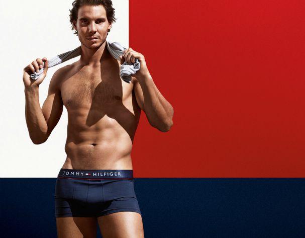 Rafael Nadal Tommy Hilfiger underwear campaign