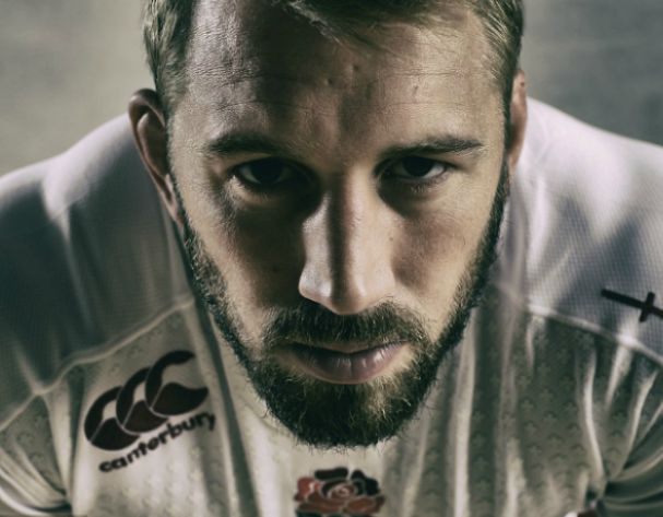Captain Chris Robshaw