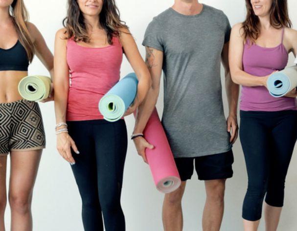 YoYo Mats: Self-rolling yoga mats