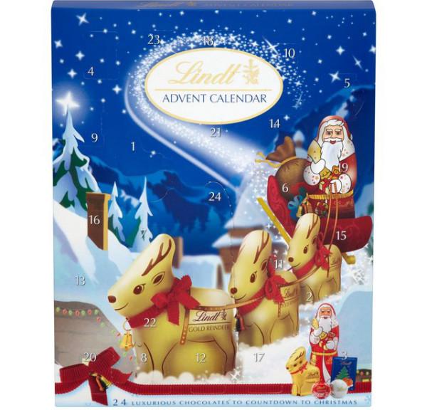 Lindt advent calendar Sainsburys