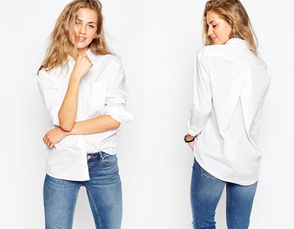 The perfect white shirt - Average Janes