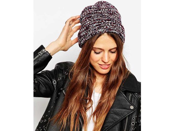 Asos chunkie twist beanie winter hats