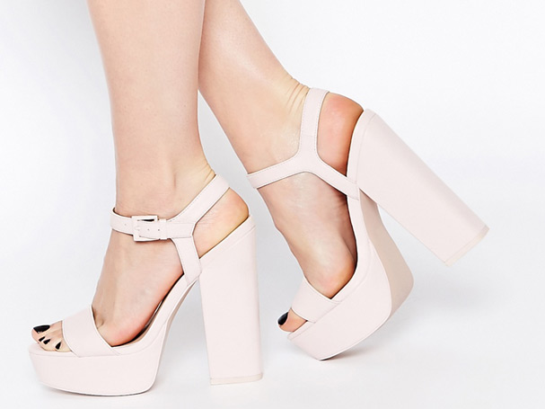 Asos jackpot NYE heeled shoes