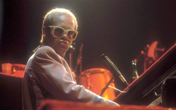 Elton John Step into Christmas song