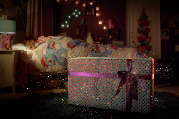 Littlewoods Touch Christmas campaign