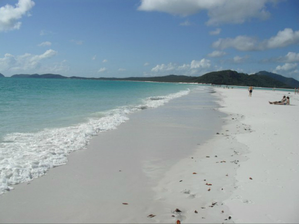 Whitsundays Australia Whitehaven beach