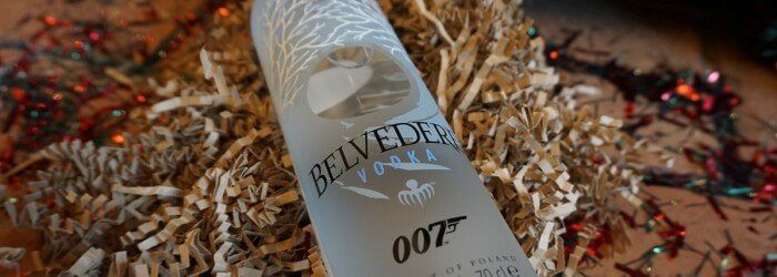 Belvedere 007 Edition Christmas Present - 2015 Gift Guide