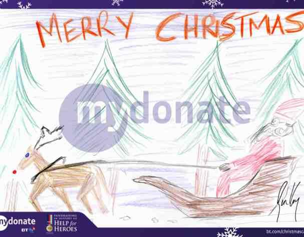 BT MyDonate Christmas e-cards