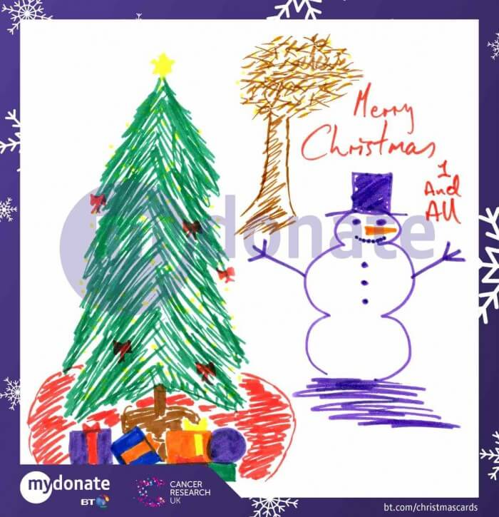 Ronan Keating - BT MyDonate Christmas e-Cards