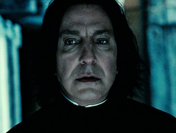 Alan Rickman Professor Snape