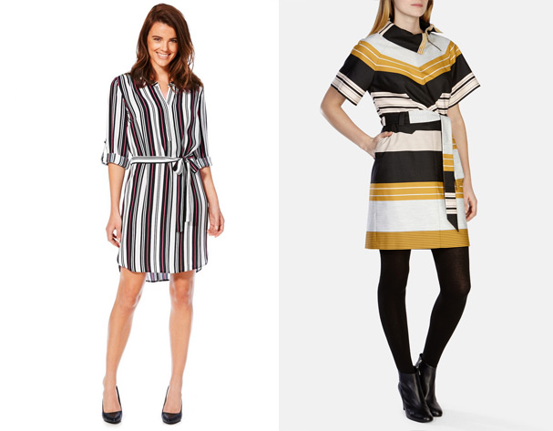 High St vs High End: Striped Shirt Dress