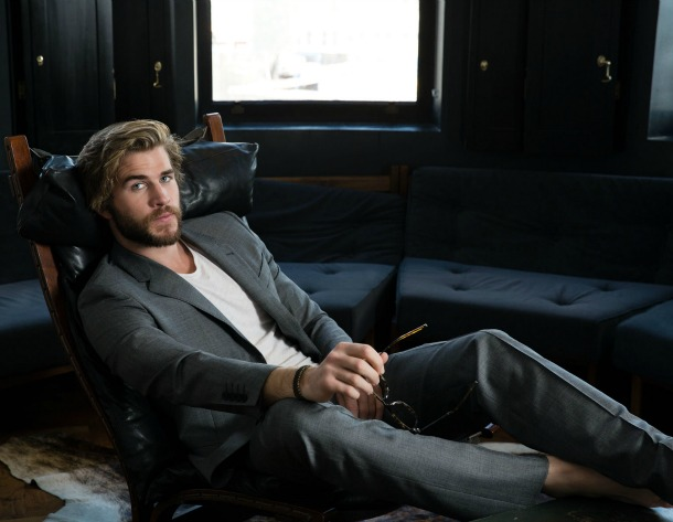 Liam Hemsworth Suited and Booted