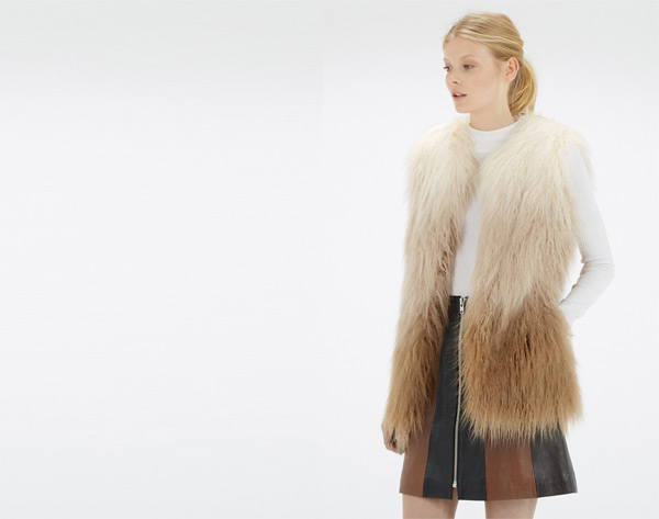 So fancy! Faux Fur Gilets