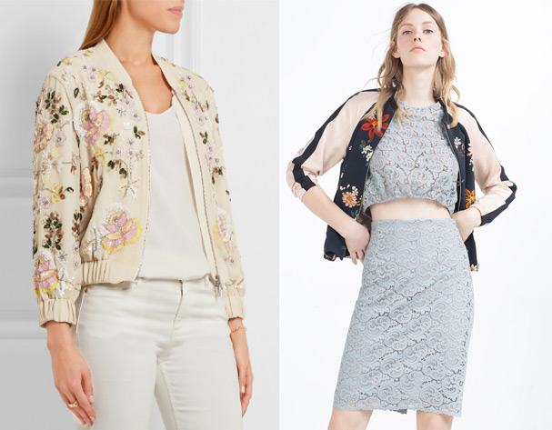 High St vs High End: Bomber Jacket