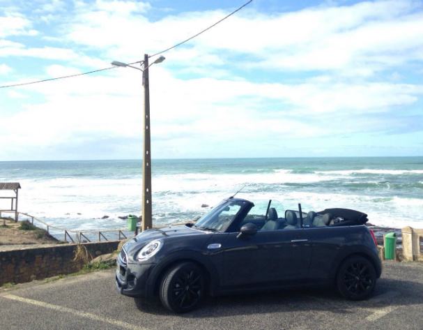 New MINI Convertible range - test drive Lisbon