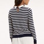Oasis stripe shirt back