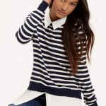 Oasis stripe blouse