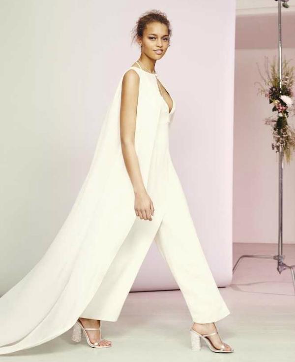 Asos bridal collection jumpsuit