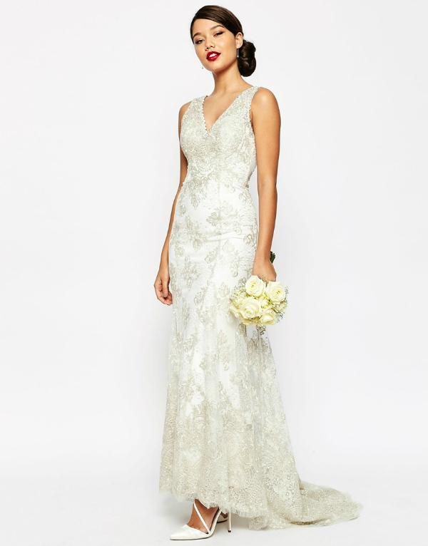 Asos vintage wedding dress
