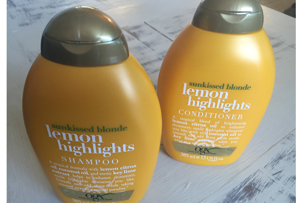 Hair colour care Lemon Highlights shampoo