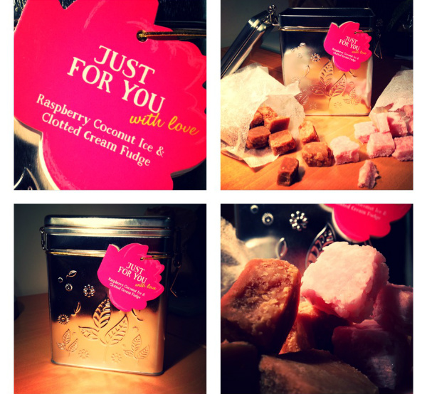 Tesco raspberry fudge - Mothers Day gifts