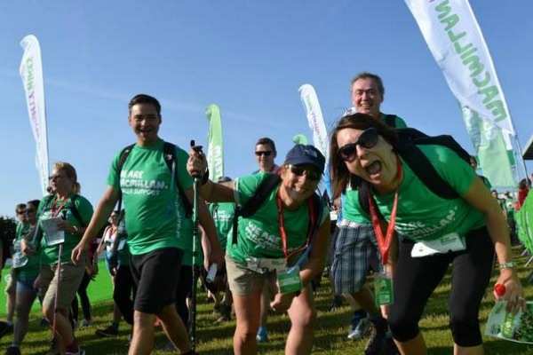 Macmillan cancer treks